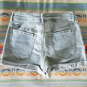 Forever 21 Shorts - Forever 21 High Waisted Cuffed Shorts